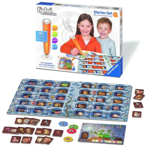 Lernspiel Tiptoi Starter Set mit Stift und Buchstaben-Spiel