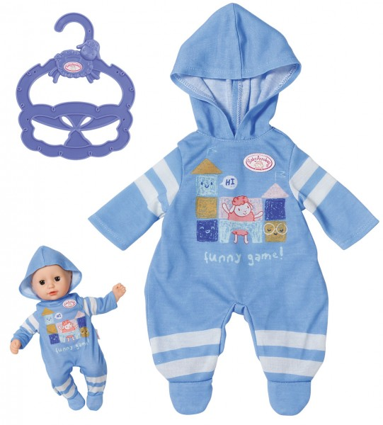 Baby Annabell Little Tagesoutfit Einteiler 36 cm (Blau)