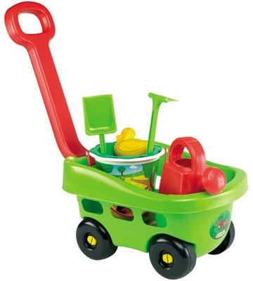 Handwagen mit Gartenzubehör