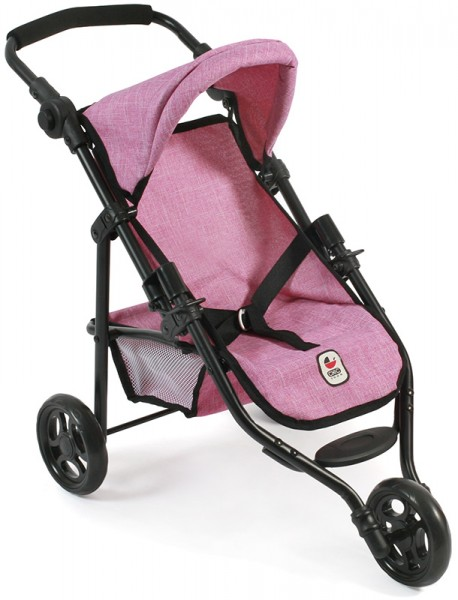 Mini Puppenjogger Lola (Jeans Pink)
