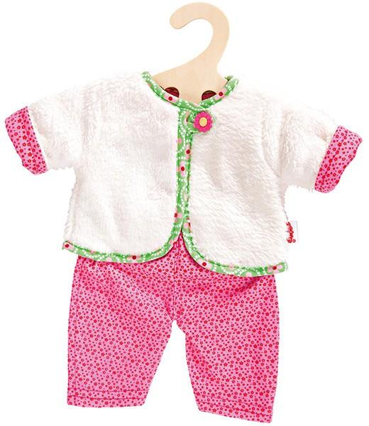Kleidungsset Kuschelige Wendejacke mit Hose 35-45 cm
