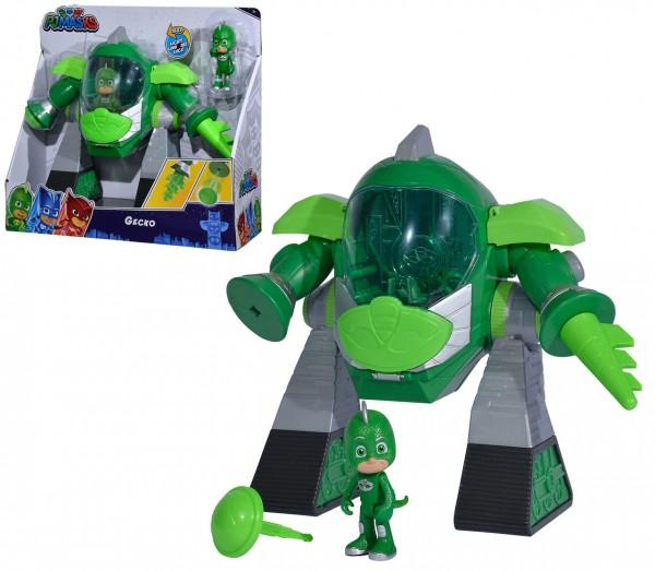 PJ Masks Turbo Roboter Gecko (Grün)