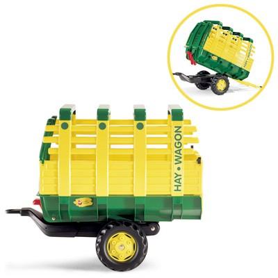 RollyTrailer Anhänger John Deere Hay Wagon (Grün)