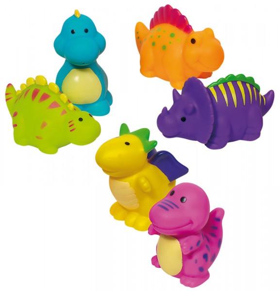 6 Wasserspritztiere Dinosaurier