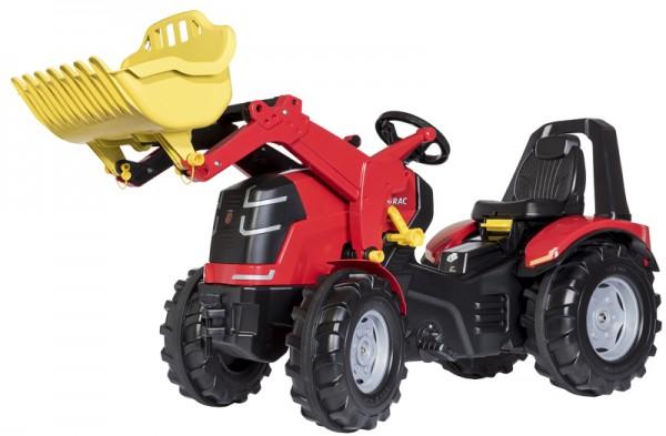 RollyX-Trac Premium Traktor mit Frontlader (Rot)