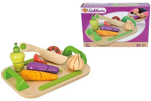 Schneidebrett Set mit Gemüse