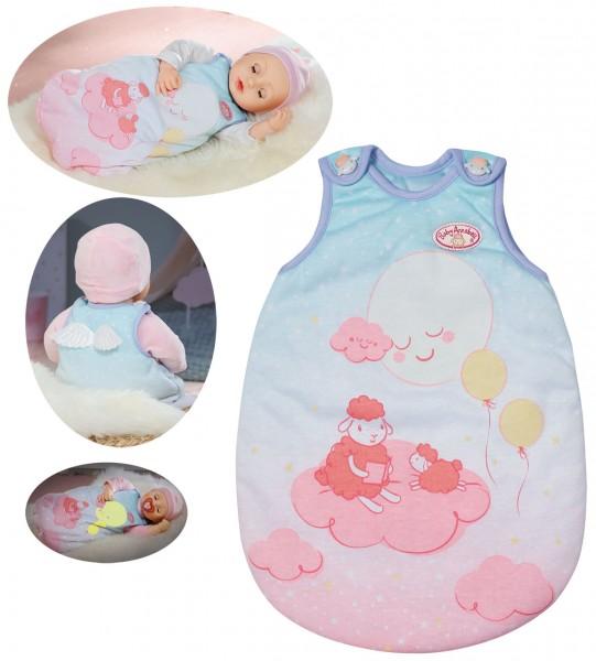 Baby Annabell Sweet Dreams Schlafsack 43 cm (Hellblau-Rosa)