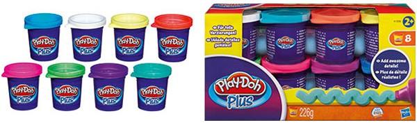 Play-Doh Plus 8er Set