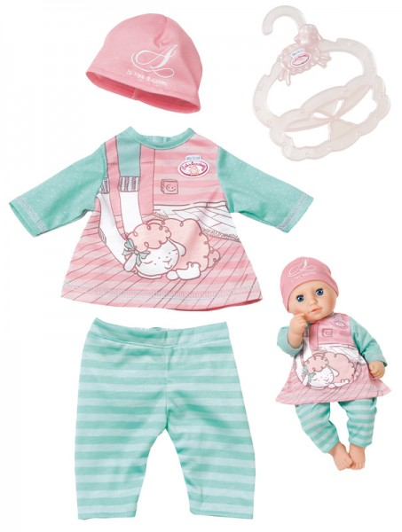 My First Baby Annabell Baby Outfit 30 - 36 cm (Rosa-Mint)