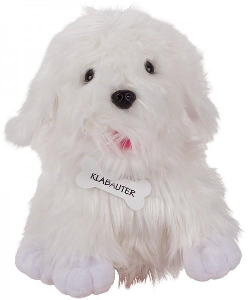 Peggy Diggledey Handpuppe Hund Klabauter (Weiß)