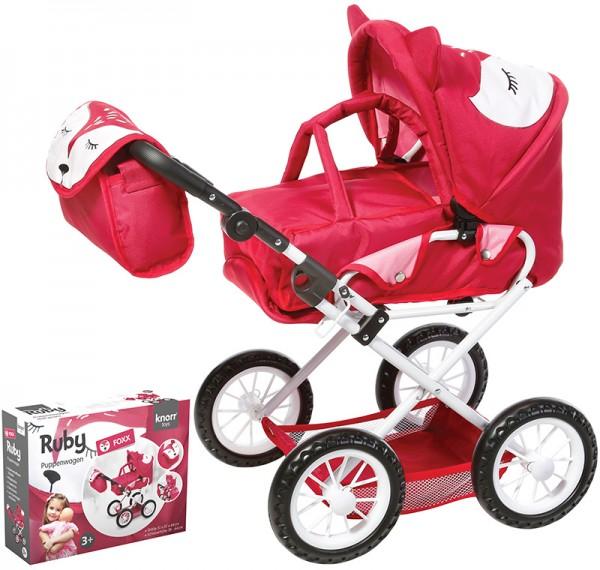 Puppenwagen Ruby Foxx (Rot-Pink)