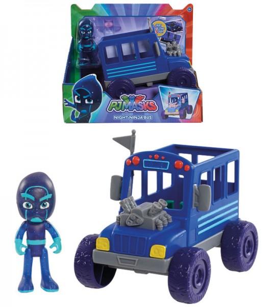 PJ Masks Ninja mit Bus (Blau)