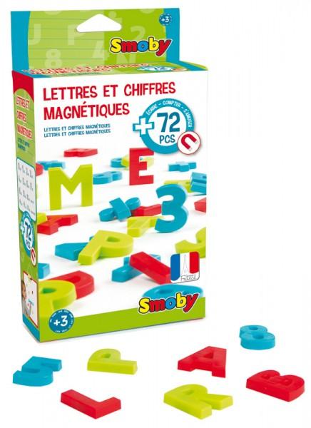 72 Magnetische Buchstaben und Zahlen
