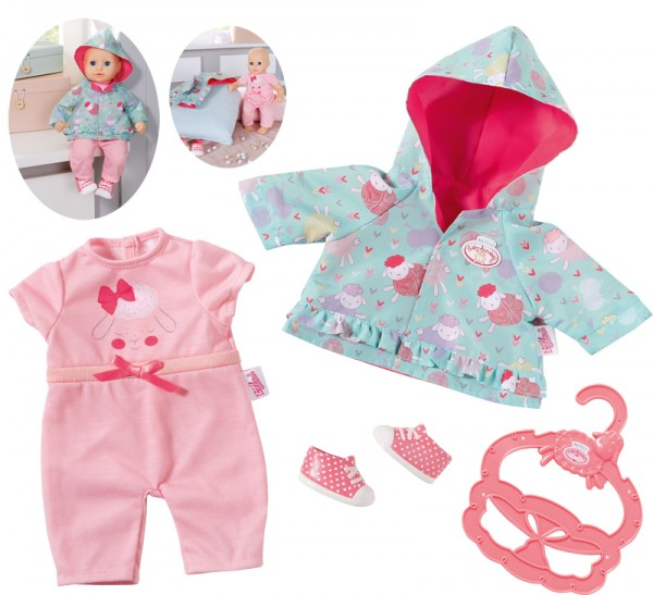 My Little Baby Annabell Spielplatz Outfit 36 cm (Mint-Rosa)