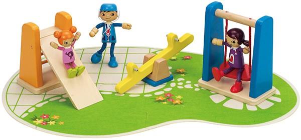Puppenhaus Spielplatz (Bunt)