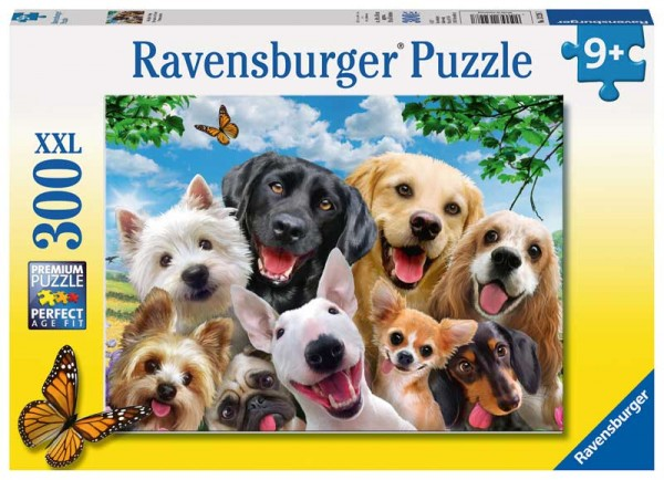 Kinderpuzzle Delighted Dogs ab 9 Jahren