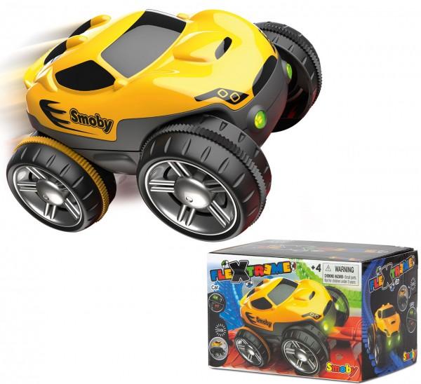 FleXtreme Fahrzeug Rennauto (Gelb)