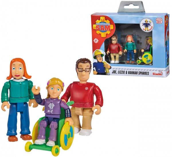Feuerwehrmann Sam Familie Sparks Figurenset