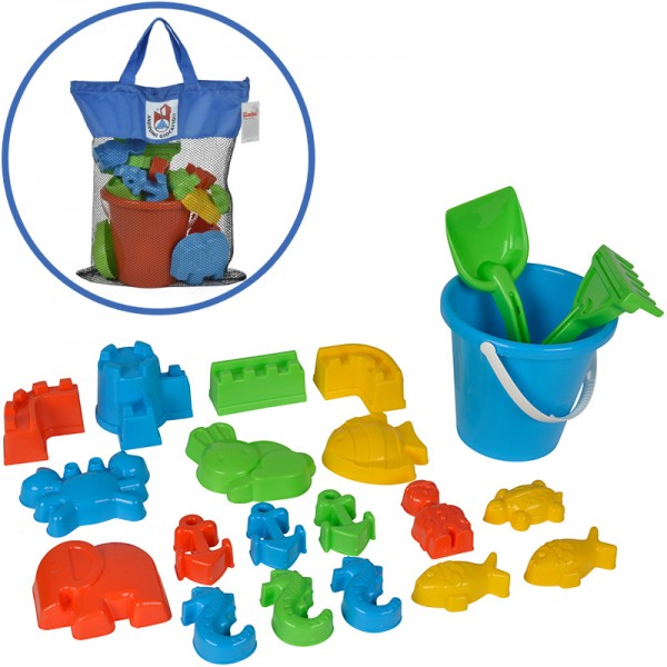 Großes Promotion Sandspielzeug in Tasche (Sortiert)