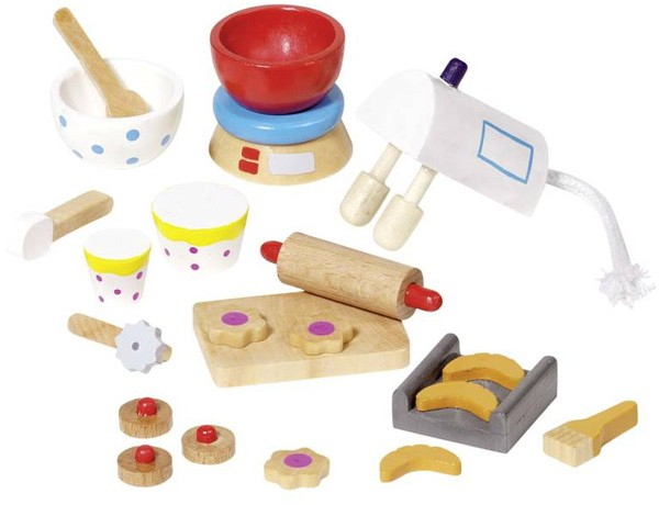 22-teilige Puppenhaus-Accessoires Backen