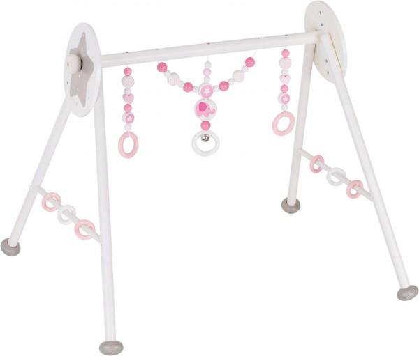 Baby-Fit Greif- und Spieltrainer Elefant (Weiß-Rosa)