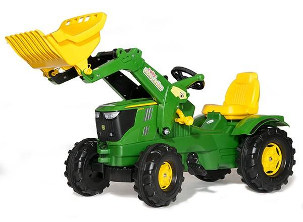 RollyFarmtrac John Deere 6210 R mit Frontlader (Grün)