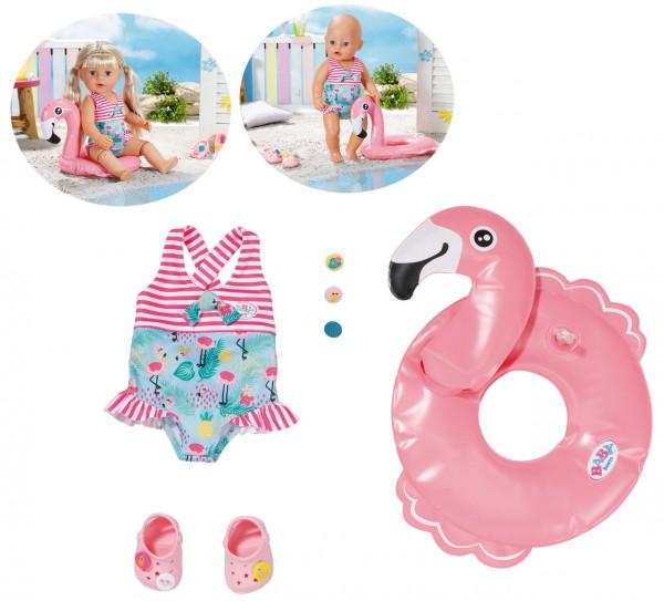 Baby Born Holiday Schwimmspaß Set 43 cm (Pink)