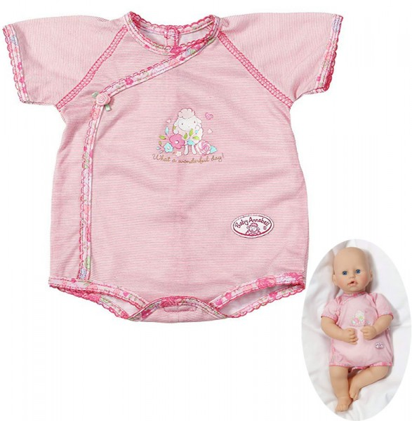 Baby Annabell Unterwäsche Baby Body (Rosa)