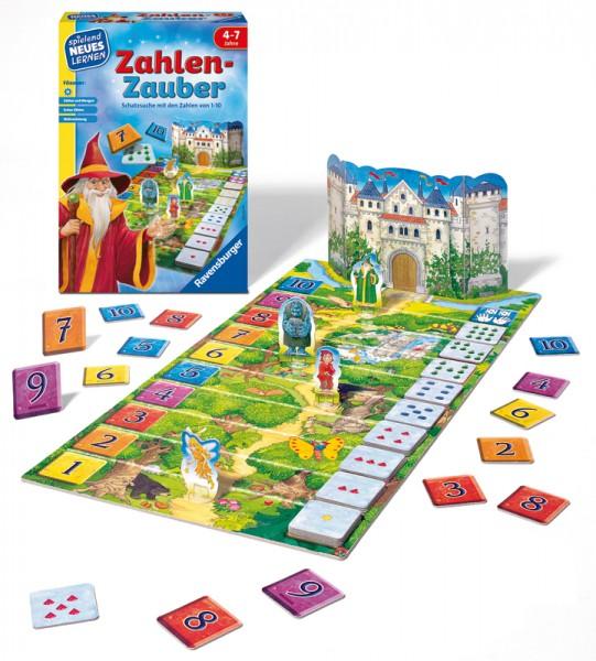 Kinderspiel Zahlen-Zauber