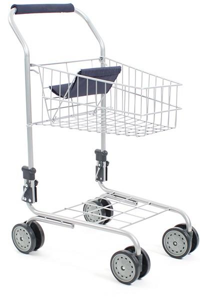 Supermarkt Einkaufswagen (Blau)