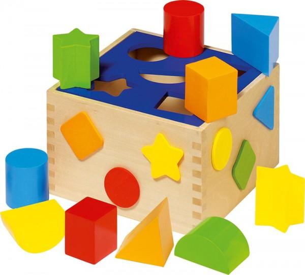 Bunte Sortierbox