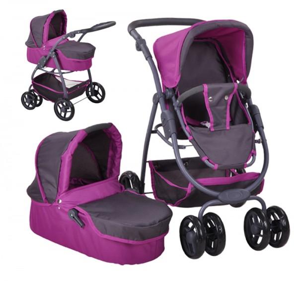 Puppenwagen Coco 2in1 (Tec Purple)