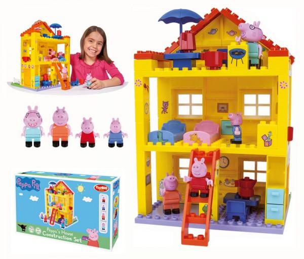 PlayBIG Bloxx Peppa Pig Peppas Haus