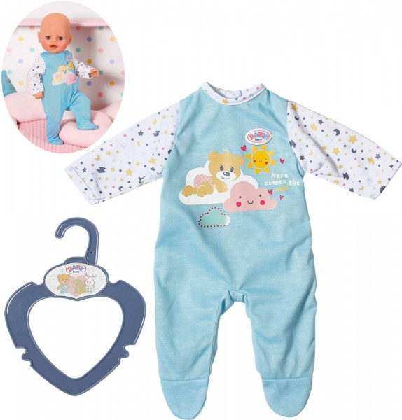 Baby Born Kleines Nacht Outfit 36 cm (Hellblau)
