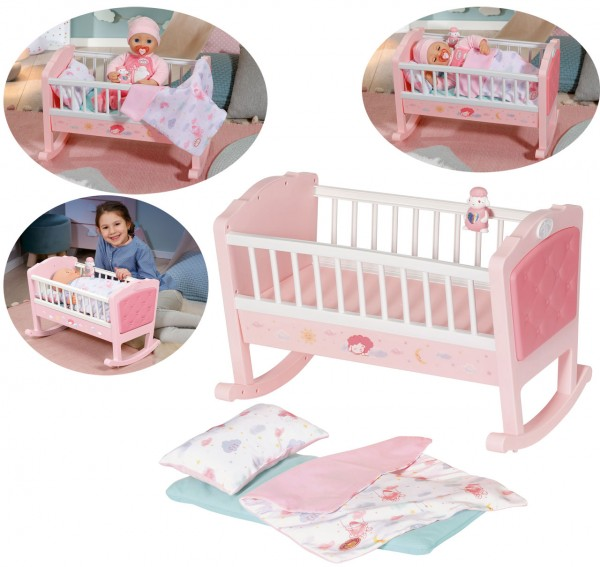 Baby Annabell Sweet Dreams Wiege (Rosa)