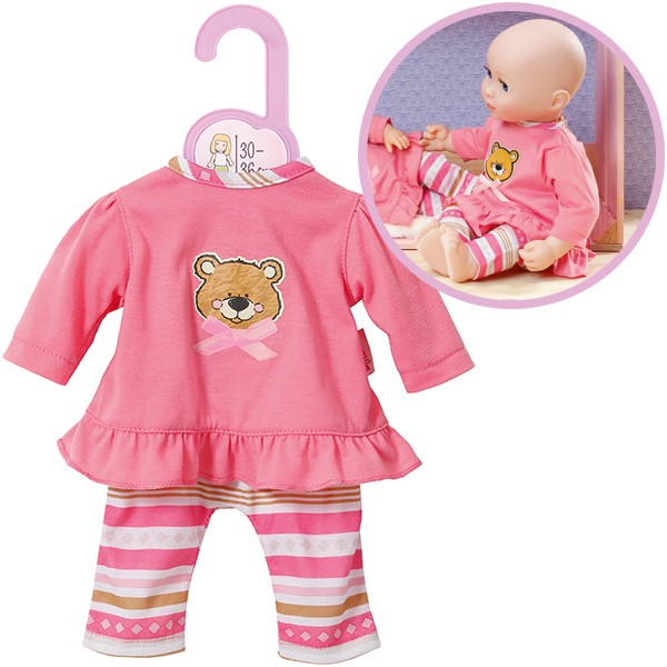 Dolly Moda Pyjama Teddy 38 - 46 cm (Rosa)