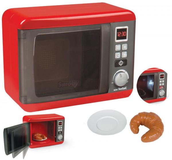 Mini Tefal Elektronische Mikrowelle mit Licht und Sound (Rot)