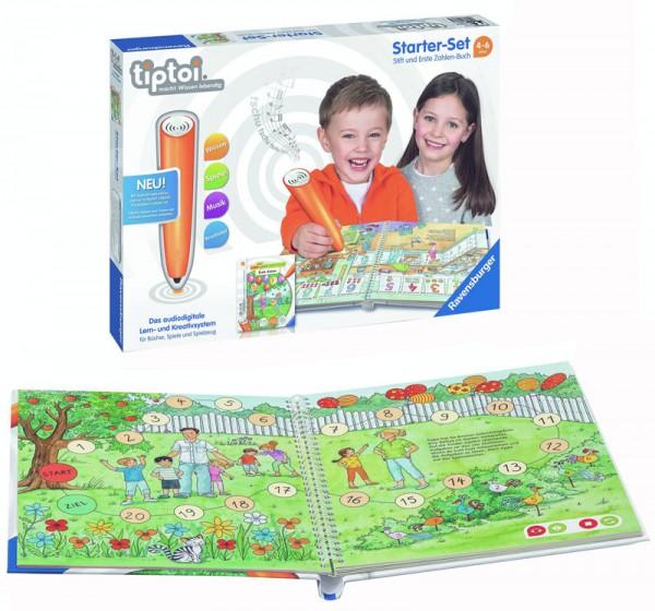 Lernspiel Tiptoi Starter Set mit Stift und Erste Zahlen-Buch