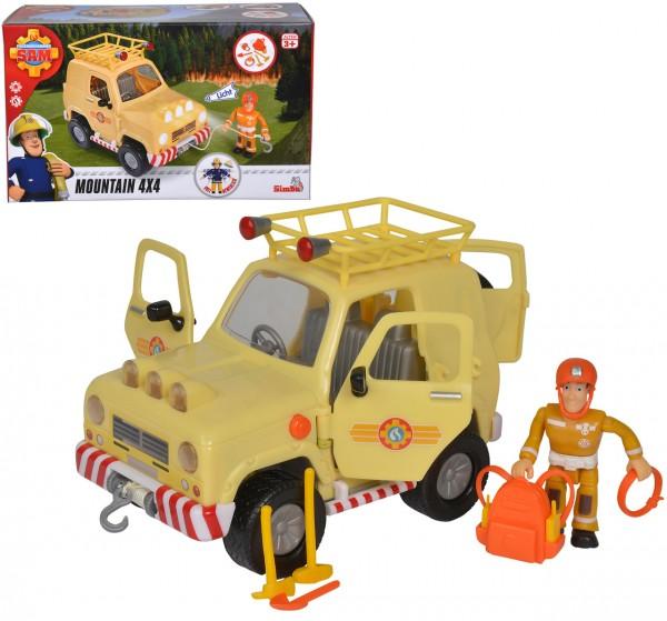 Feuerwehrmann Sam Tom's 4x4 Geländewagen mit Licht