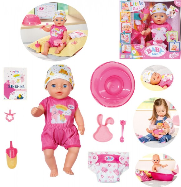 Baby Born Soft Touch Little Girl Puppe 36 cm (Rosa)