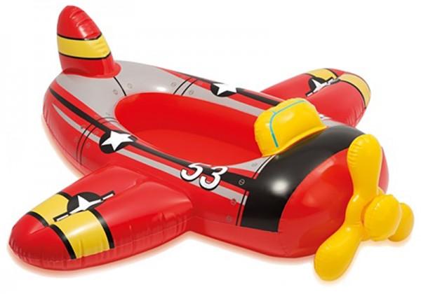 Kinder-Schlauchboot Wasserflugzeug (Rot)