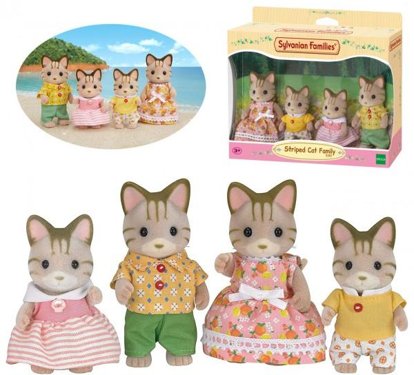 Sylvanian Families Tigerkatzen Familie Fauch-Fauch