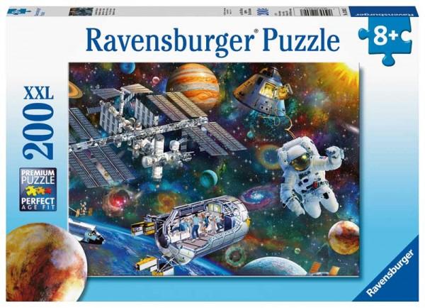 Kinderpuzzle Expedition Weltraum ab 8 Jahren
