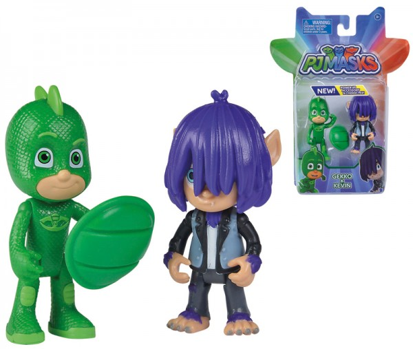 PJ Masks Figuren Set 2er Pack Gecko und Kevin