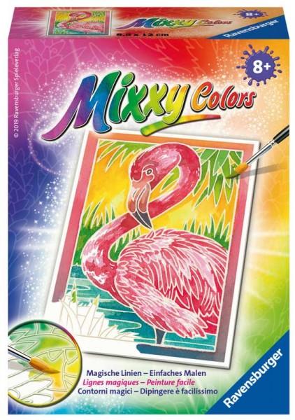 Malen nach Zahlen Mixxy Colors Flamingo