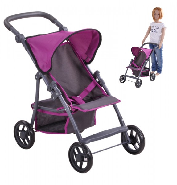 Puppenbuggy Liba (Tec Purple)