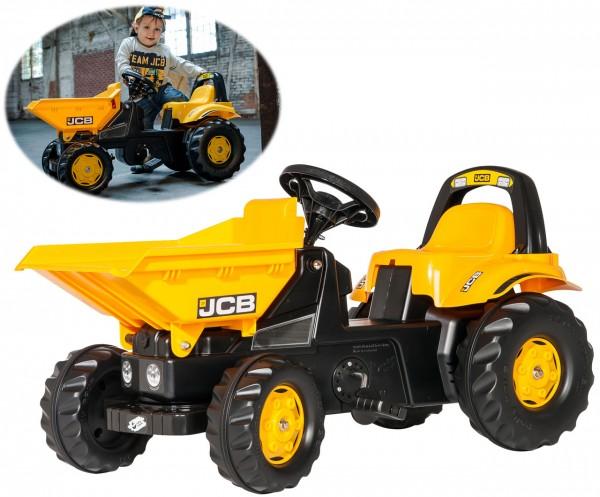 RollyKid JCB Dumper Traktor mit Kippschüssel (Gelb)