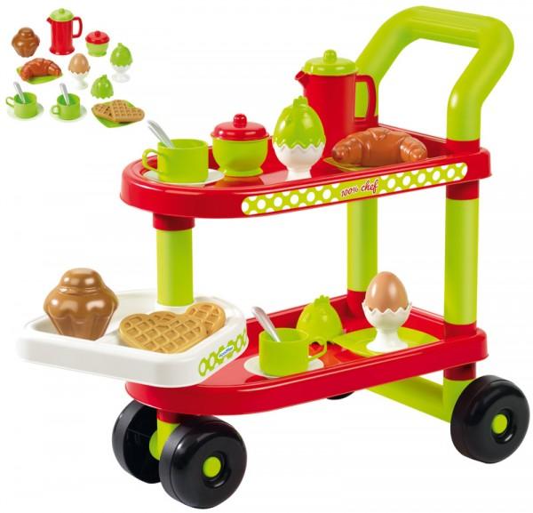 Servierwagen Tea Time mit Puppengeschirr