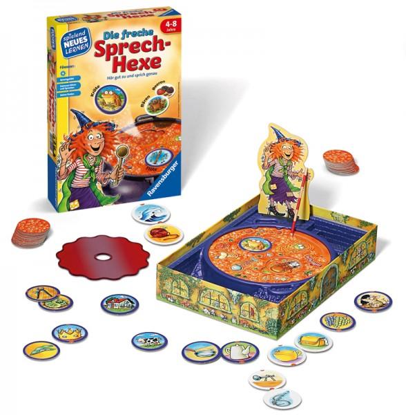 Kinderspiel Die freche Sprech-Hexe