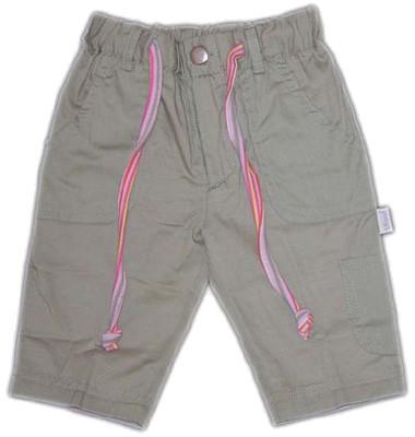 Mädchenhose mit aufgesetzten Taschen Gr. 74 (Khaki)